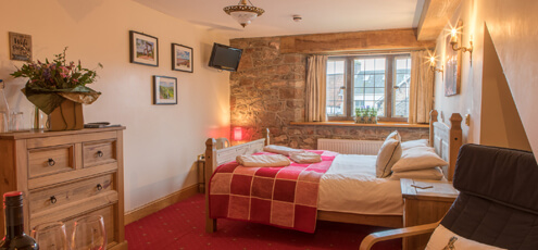 The George Inn and Millingbrook Lodge Forest of Dean accommodation rooms and tariffs